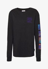 YOURTURN - Long sleeved top - black - 5