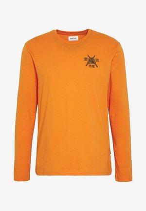 Maglietta a manica lunga - orange