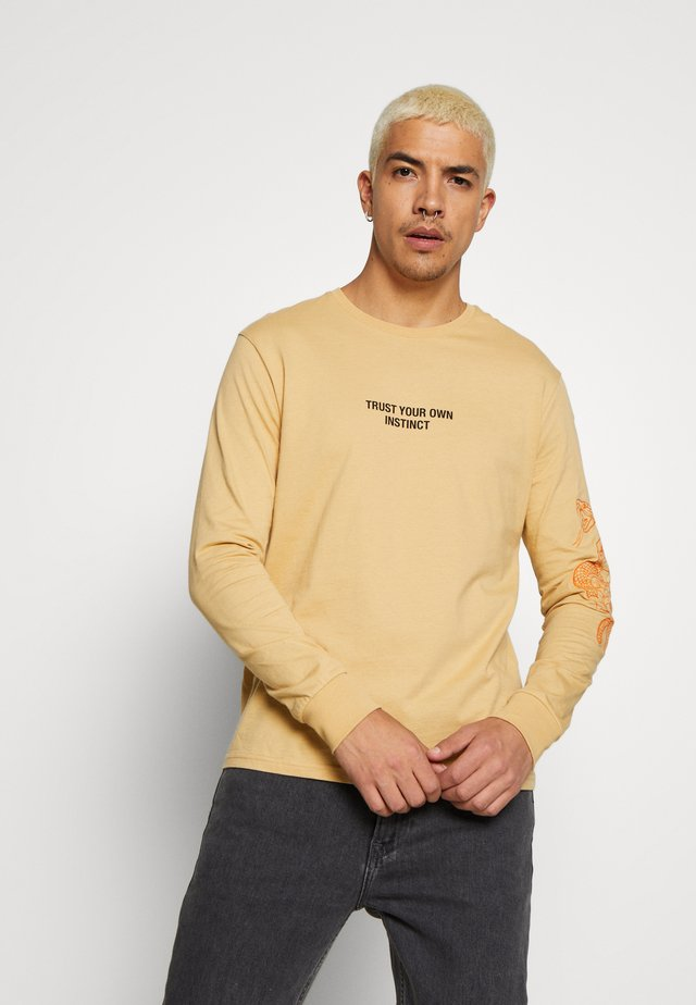 T-shirt à manches longues - taupe