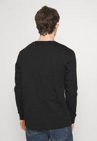 YOURTURN - Long sleeved top - black - 2