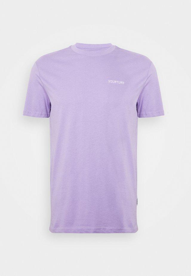 T-shirt - bas - lilac