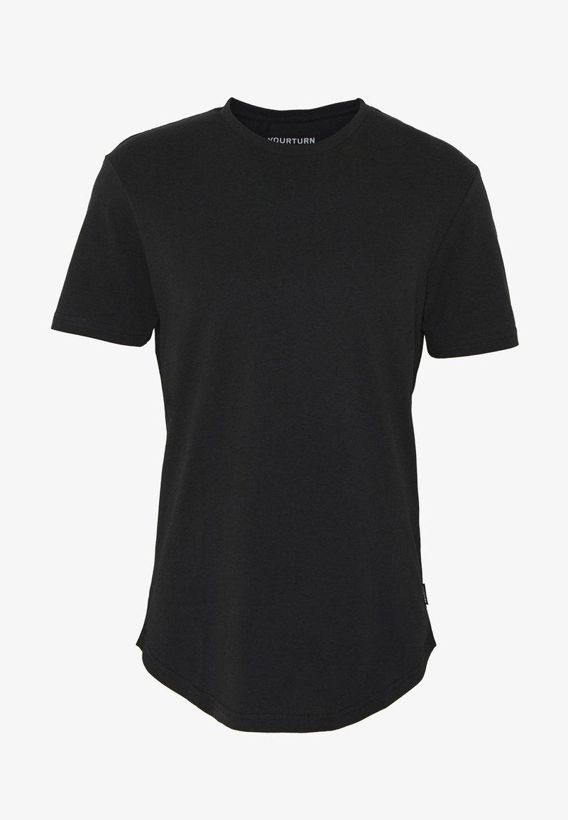 YOURTURN - T-shirts - black