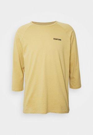 Camiseta de manga larga - tan