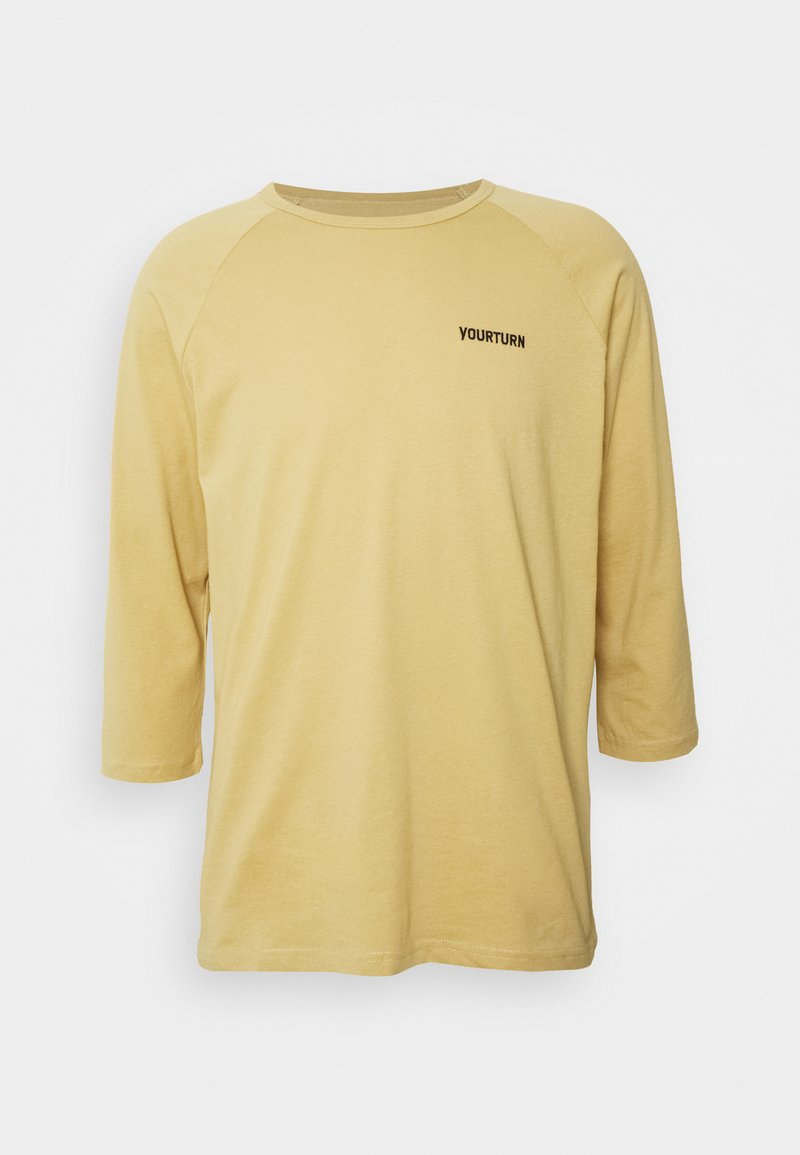 YOURTURN - Long sleeved top - tan