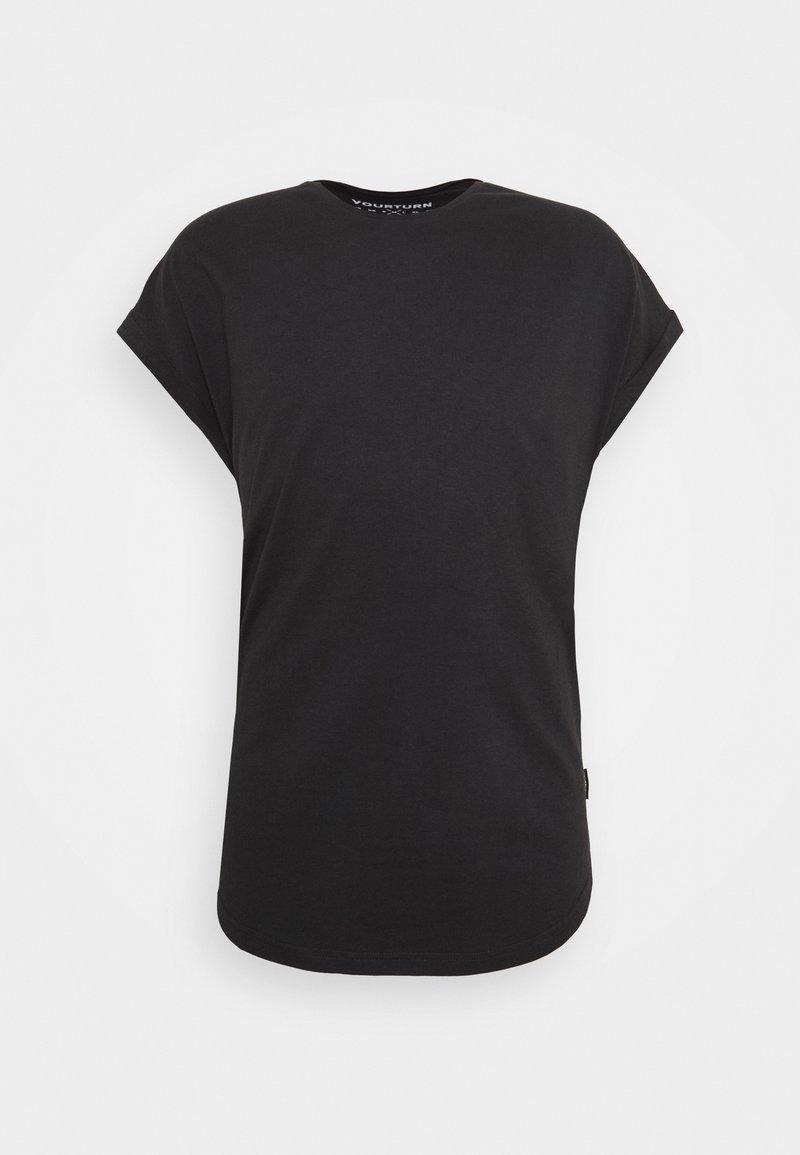 YOURTURN - Basic T-shirt - black