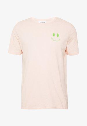 UNISEX ZEBRA TEE - T-shirt med print - pink