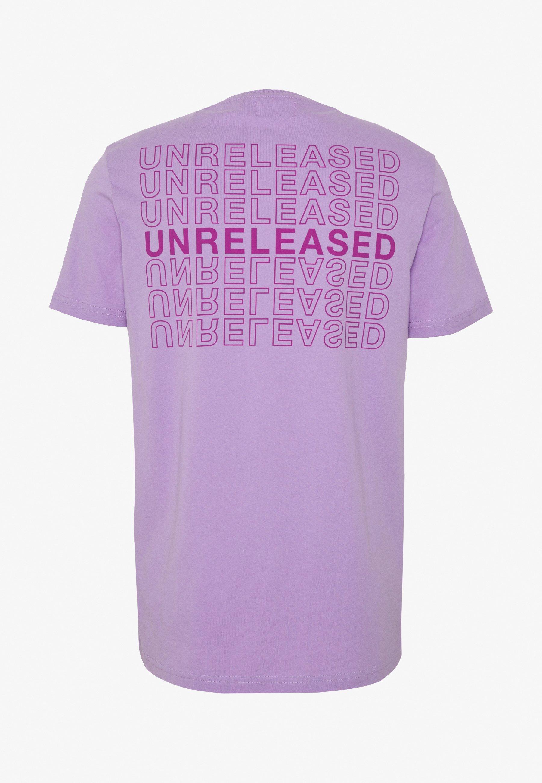 YOURTURN T-shirt z nadrukiem - lilac