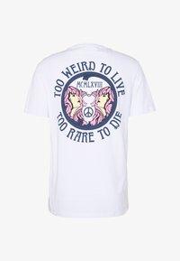 YOURTURN - UNISEX TEE  - Print T-shirt - white - 0