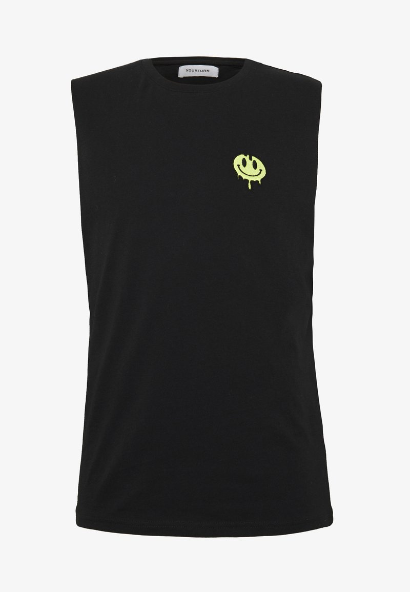 YOURTURN - TANK - Top - black