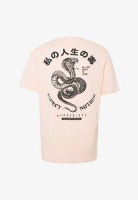 YOURTURN - Print T-shirt - pink - 0