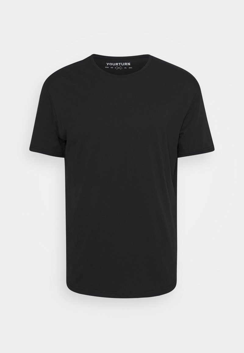 YOURTURN - Basic T-shirt - black