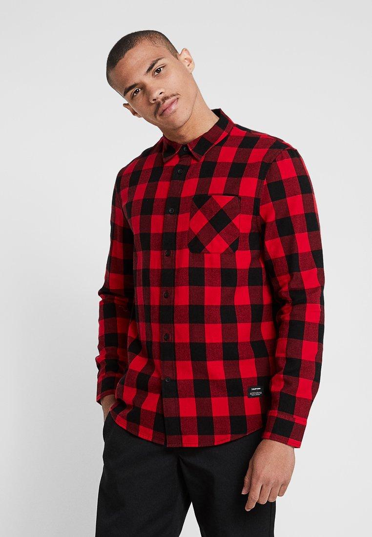 YOURTURN - Shirt - red/black
