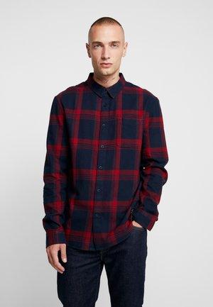 Skjorta - dark blue/red