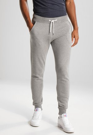 Tracksuit bottoms - light grey melange