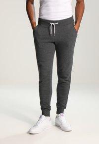 YOURTURN - Teplákové kalhoty - dark grey melange - 0