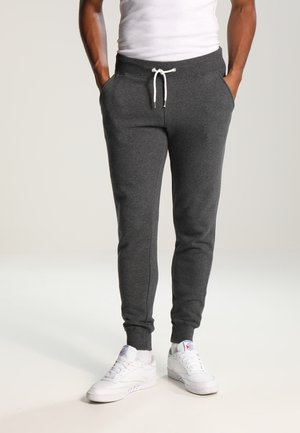 Tracksuit bottoms - dark grey melange