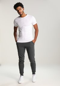 YOURTURN - Teplákové kalhoty - dark grey melange - 1