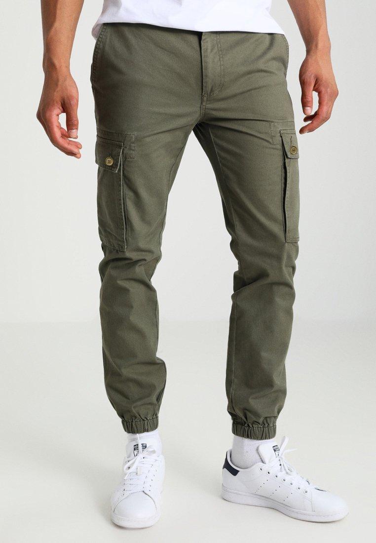 YOURTURN - Pantalon cargo - olive
