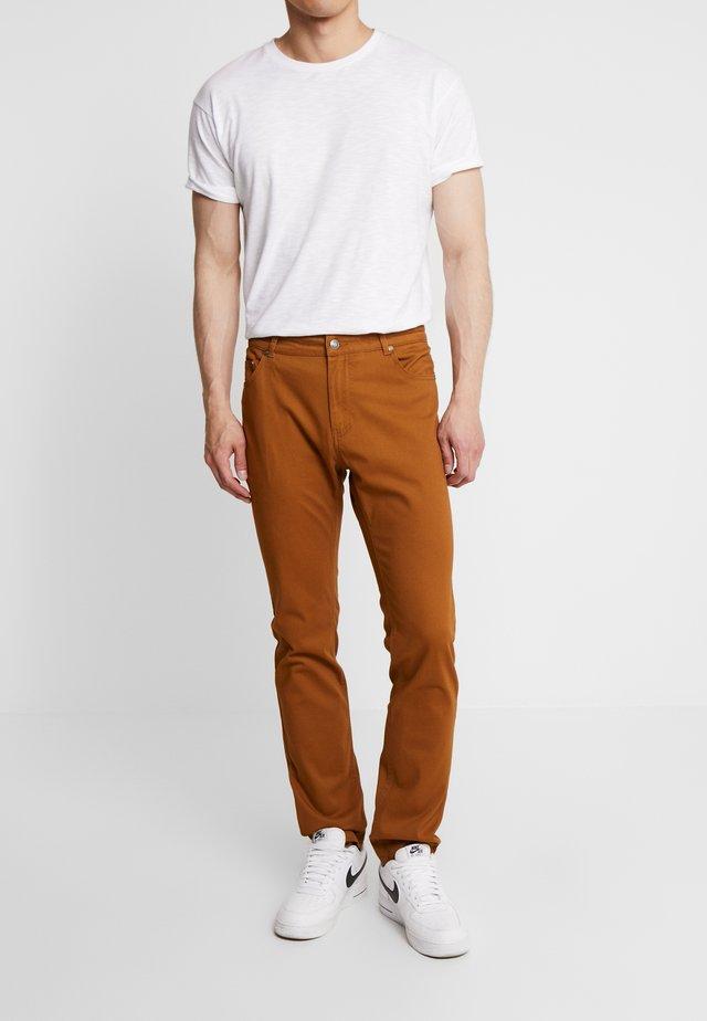 Kalhoty - cognac