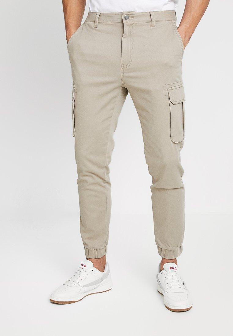 YOURTURN - Pantalon cargo - beige