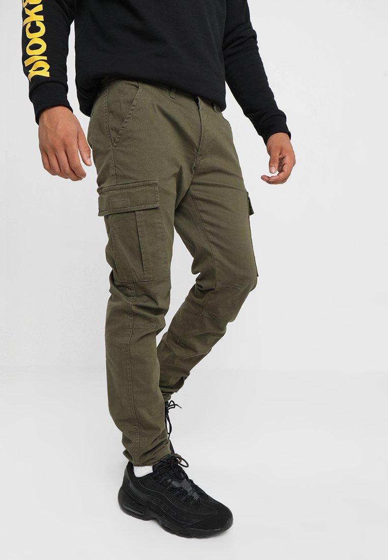 YOURTURN - Pantaloni cargo - oliv