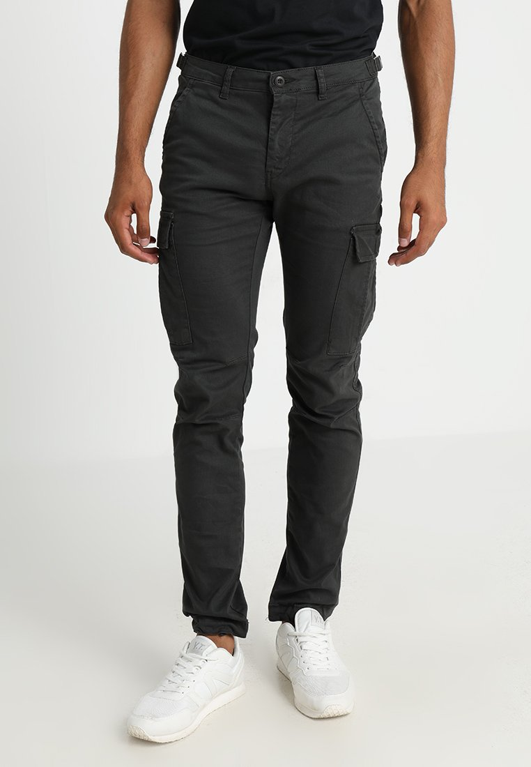 YOURTURN - Cargo trousers - black