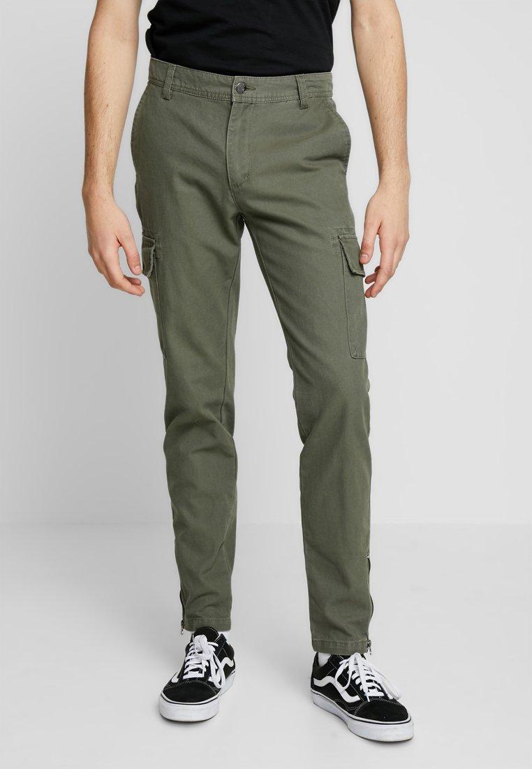 YOURTURN - Pantaloni cargo - olive