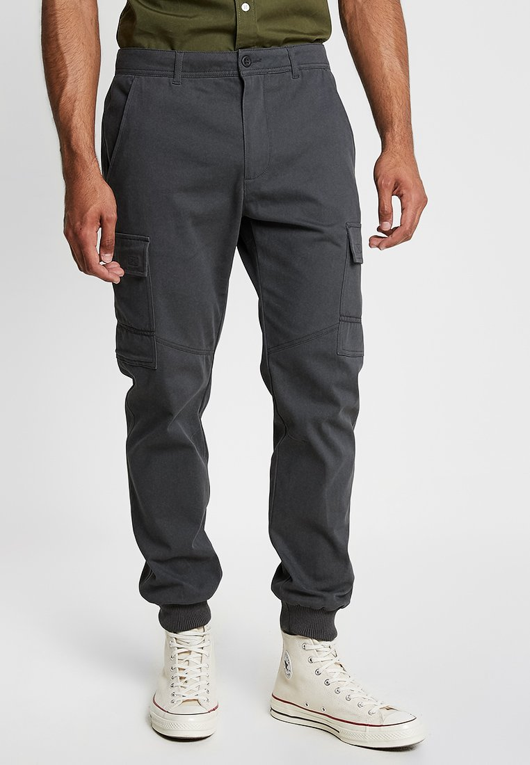 YOURTURN - Cargo trousers - anthracite