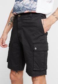 YOURTURN - Cargo trousers - black - 3