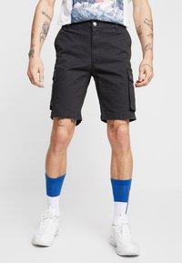 YOURTURN - Cargo trousers - black - 0
