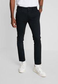 YOURTURN - Chino kalhoty - black - 2