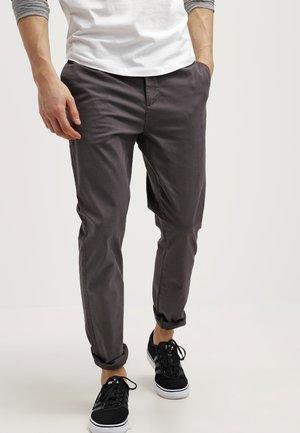 Pantalones chinos - dark gray