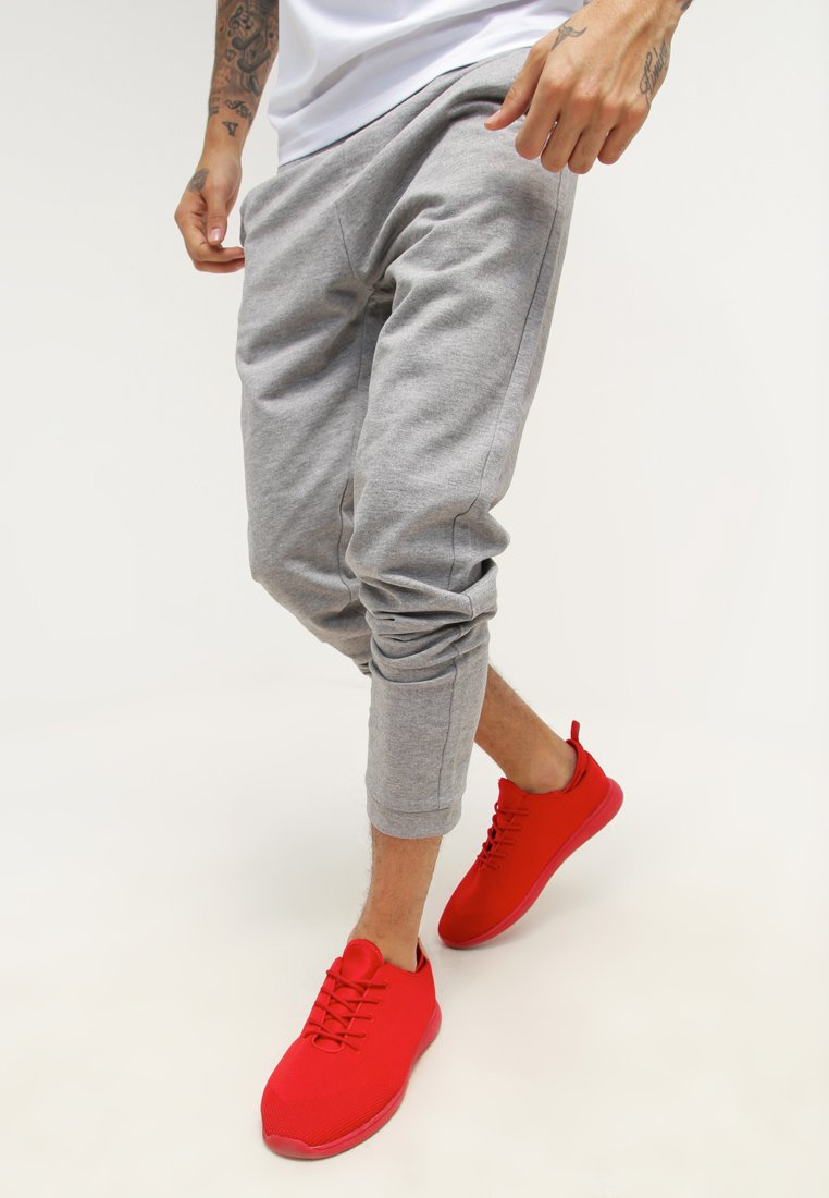 YOURTURN - Tracksuit bottoms - mottled grey