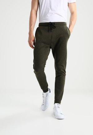 Pantalon de survêtement - mottled dark green