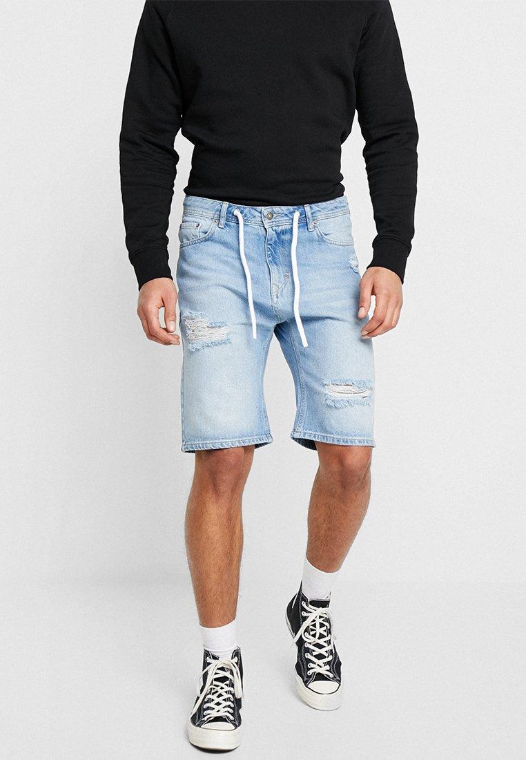 YOURTURN - Denim shorts - destroyed denim