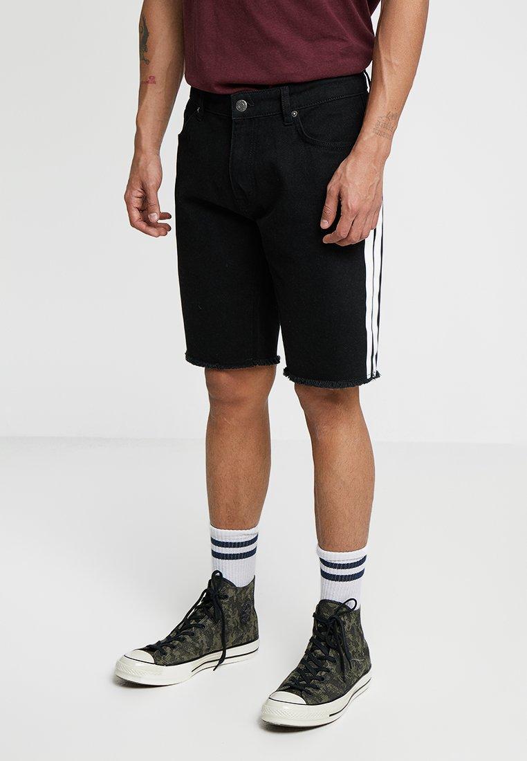 YOURTURN - Denim shorts - black denim