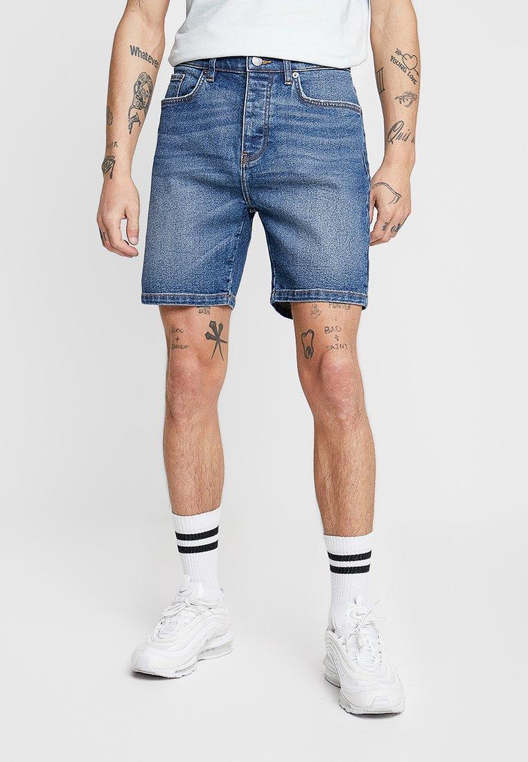 YOURTURN - Jeans Shorts - blue denim