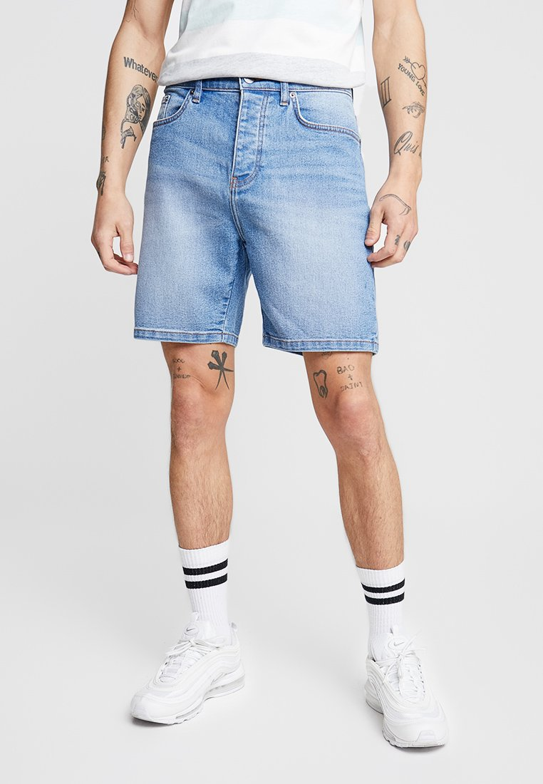 YOURTURN - Denim shorts - light blue