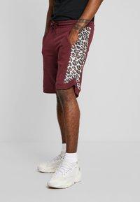 YOURTURN - Pantalon de survêtement - bordeaux - 0