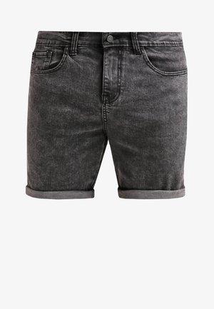 Denim shorts - black moonwash