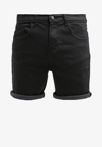YOURTURN - Denim shorts - black - 5