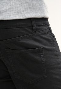 YOURTURN - Denim shorts - black - 4