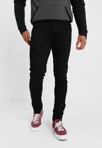 YOURTURN - Jeans Skinny Fit - black denim - 0