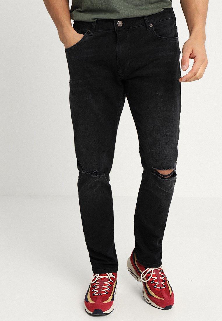 YOURTURN - Jeans Slim Fit - black denim