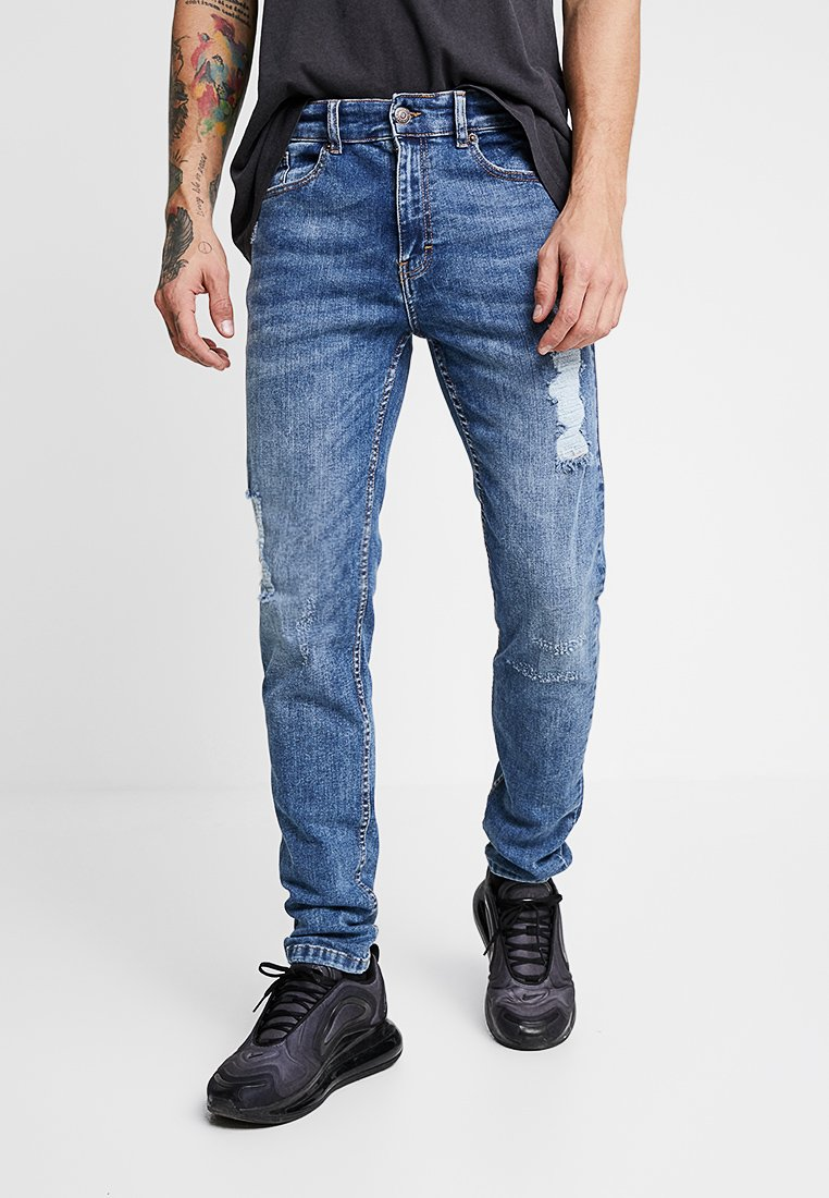 YOURTURN - Jeansy Skinny Fit - blue denim