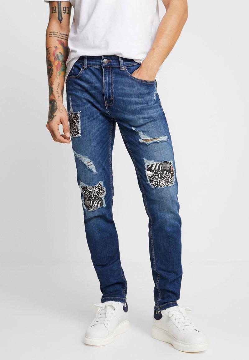 YOURTURN - Jeans Slim Fit - blue denim