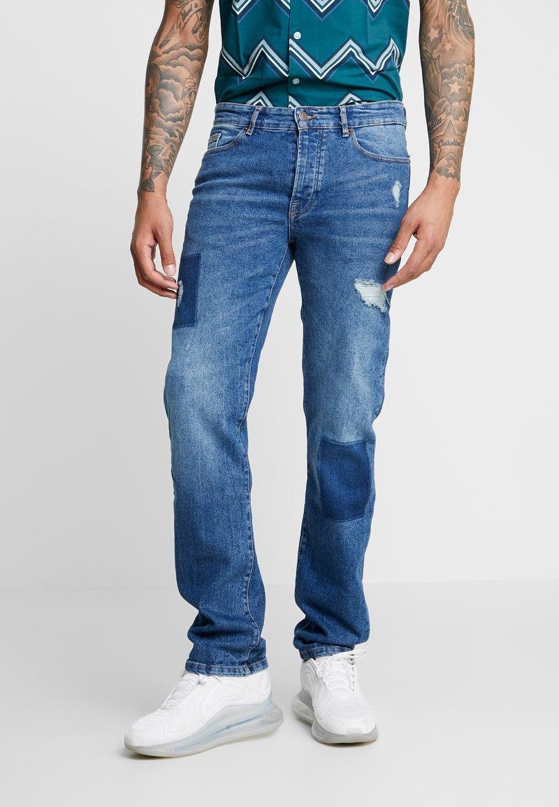 YOURTURN - Straight leg jeans - bleached denim