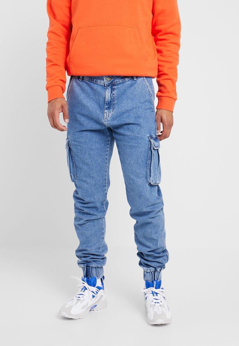 YOURTURN - Jeans Tapered Fit - blue denim