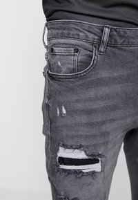 YOURTURN - Jeans Skinny Fit - black denim - 3
