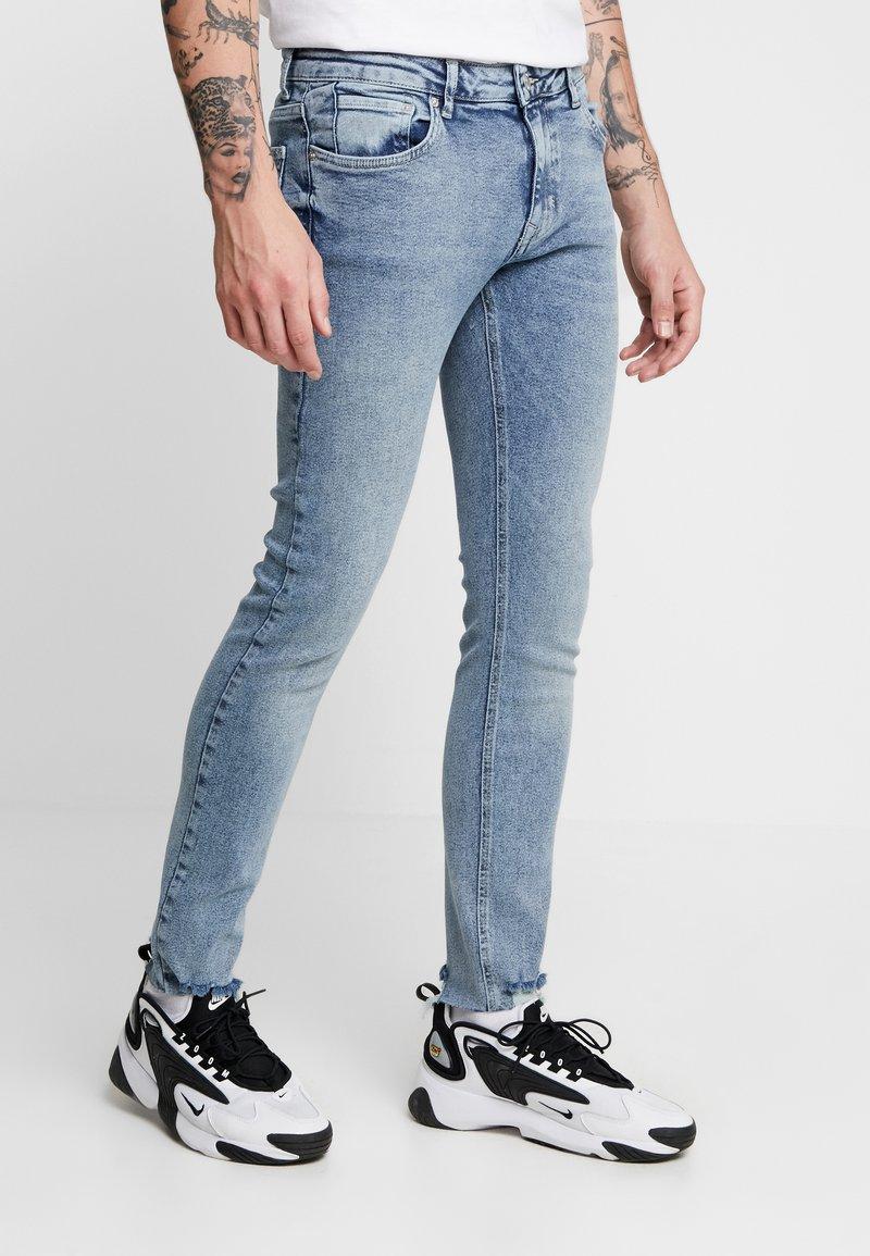 YOURTURN - Slim fit jeans - blue denim